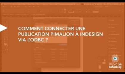 Comment connecter une publication Pimalion à Indesign via l'ODBC ?
